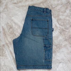 Old navy painters jean shorts size 38